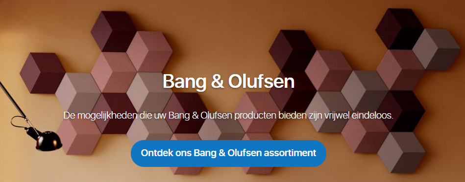 Bang & Olufsen product assortiment