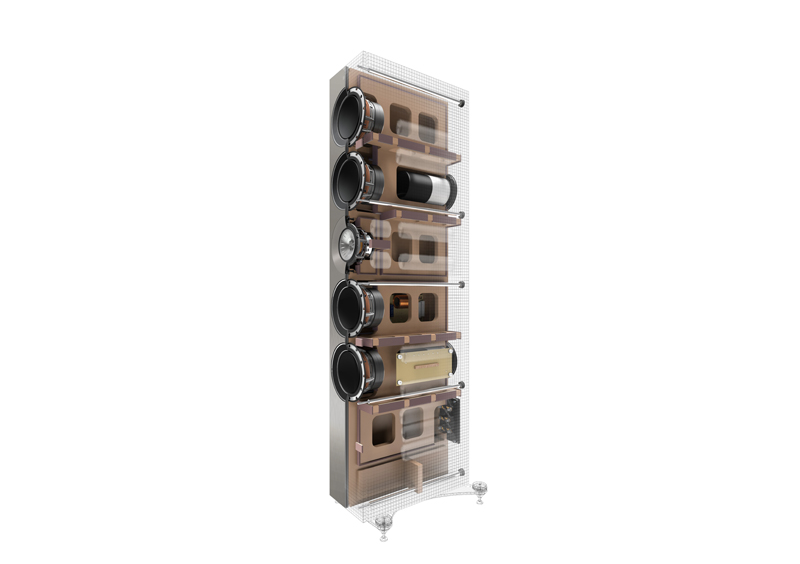 Kef Reference 5 opbouw