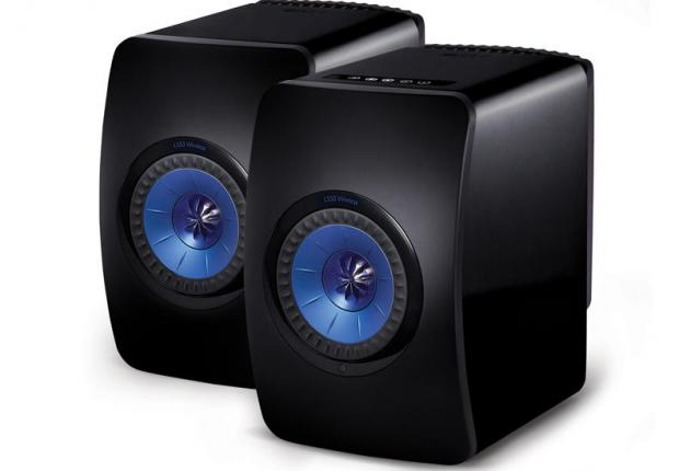 KEF LS50 Wireless zwart
